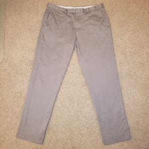 J. Crew Bowery Men's Slim Fit Grey Pants EUC
